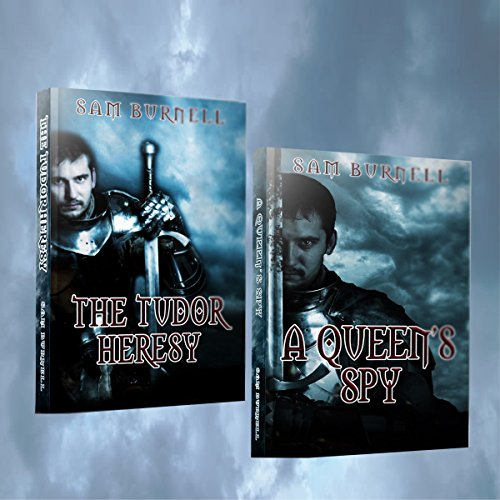 A Queen's Spy Plus Free Copy of The Tudor Heresy audiobook cover art