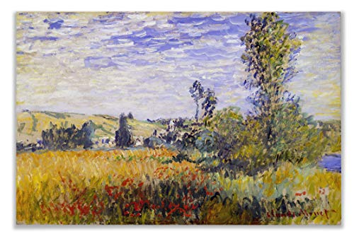 Monet Wall Art Collection Canvas Vethueil by Claude Monet Prints Wrapped Gallery Wall Art