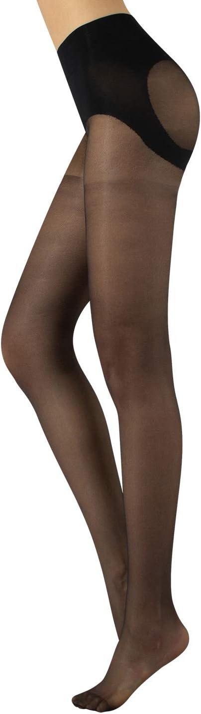 Medias Reductoras De Mujer Panty Push Up Natural Negro S M L Xl Calceteria Italiana Amazon Es Ropa Y Accesorios
