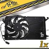 Ventilador de motor de refrigeración del motor para C-Max DM2 Focus C-Max Focus II DA_ HCP DP DA_ 3 BK C30 S40 II 544 V50 MW 2003-2012 3M5H8C607RJ