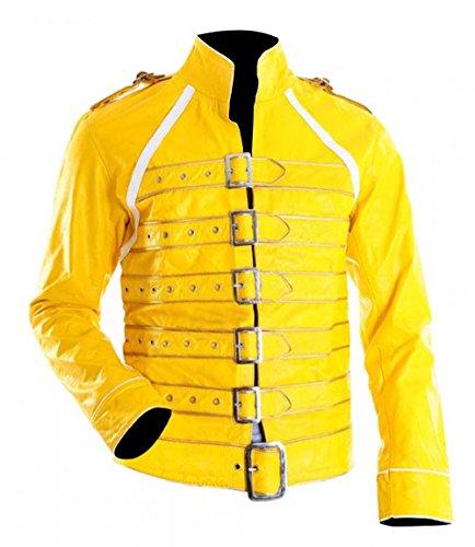 Style Up Ltd - Chaqueta de piel sintética para disfraz de Concierto...