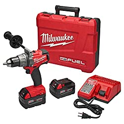 Milwaukee M18 FUEL Brushless XC Lithium Ion Cordless Drill Kit