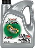 Castrol 03166 Actevo Xtra 10W-40 4-Stroke Motorcycle Oil - 1 Gallon, (Pack of 3)