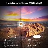 IMG-1 videoproiettore wifi bluetooth 8000 lumen