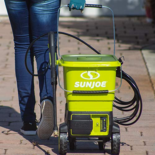 Product Image 4: Sun Joe SPX6001C-XR 1160 PSI Max Cordless Pressure Washer, Kit (w/5.0-Ah Battery + Quick Charger)