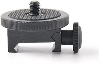 SOLOMARK Gun Adapter for Camera Screw (1/4-Inch) - Camera Gun Mount Adapter Shotgun Hunting