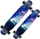 Monopatín Longboard Cruiser Completo Skateboard Monopatín completos Longboard Cruiser 9 de capa trucos de arce cubierta del patín de la calle Junta de cepillo crucero for adolescentes principiantes Ni