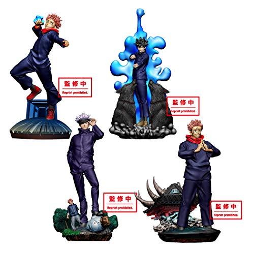 プチラマシリーズ 呪術廻戦 卓上領域展開 壱號 (BOX) 約95mm 塗装済み完成品フィギュア
