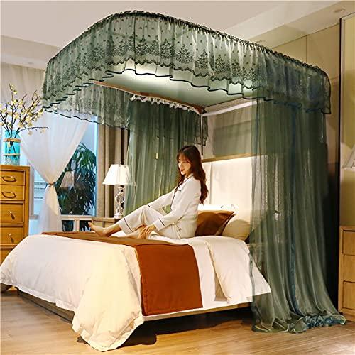 EYCIEROT Mosquitero cama Canopy para niños/adultos protección contra insectos para interiores y exteriores decorativos para viajes