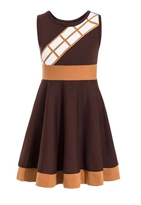 Chewbacca Costume for Kids The Last Jedi Costume Girls Dress for Toddler Star Wars