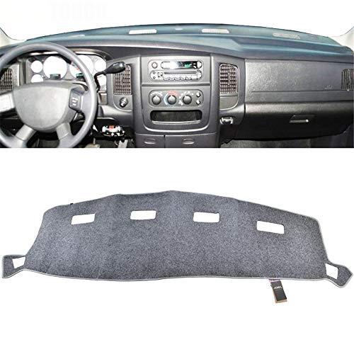 , Voor auto Dash Cover, Voor Dodge Ram 1500 2500 3500 2000-2005 Dashboard Mat Pad Dashmat Dash Mat Lichtgrijs Grijs 2001 2002 2003 2004