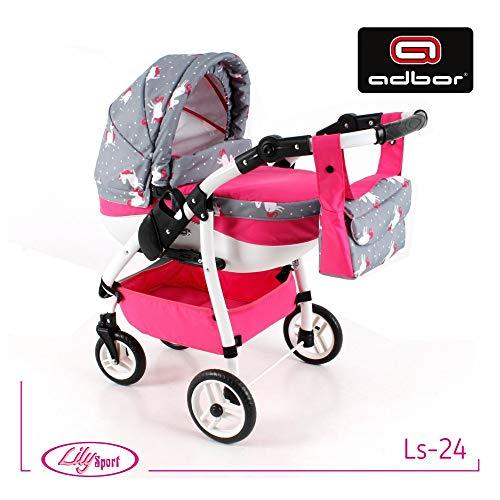PolBaby Adbor Lily Sport Puppenwagen- LS24