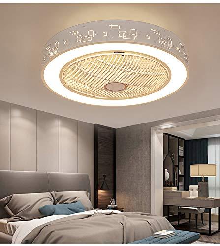 LEDUNI Ventiladores para el techo con lámpara