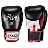 Fairtex Muay Thai-Style Sparring Glove, Black/White, 12-Ounce mma gloves Nov, 2020