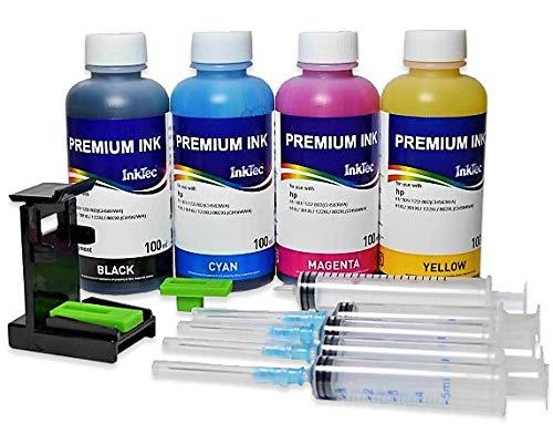 InkTec Nachfüllset für HP-303 Druckerpatronen kompatibel zu Envy Photo 7830 All-in-One