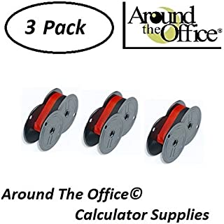 Around The Office Compatible Package of 3 Individually Sealed Ribbons Replacement for Canon MP-11-DX Calculator