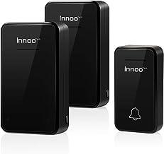 [No necesita pilas] Innoo Tech timbre inalámbrico exterior resistente al agua, timbre inalámbrico, alcance de 500 pies, 2 ...