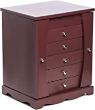 Home 8 Comp Drawer W/Mirror Foldable, Brown - YK-DR-BR