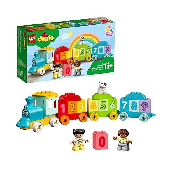 LEGO 10954 Duplo My First Tren de los Números: Aprende a Contar, Juguetes Educativos para Bebés +1.5 Año con Mini…