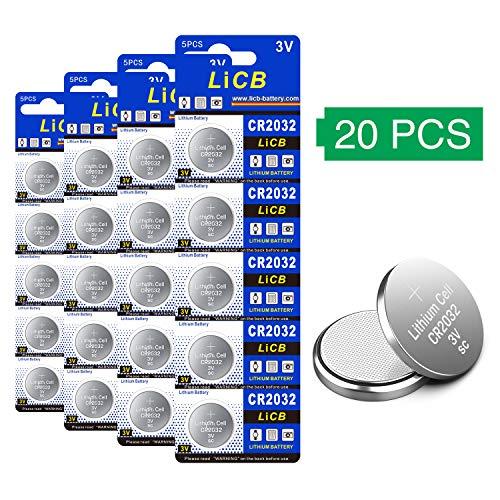 Pack von 20 Batteries CR2032 Marke Maxell
