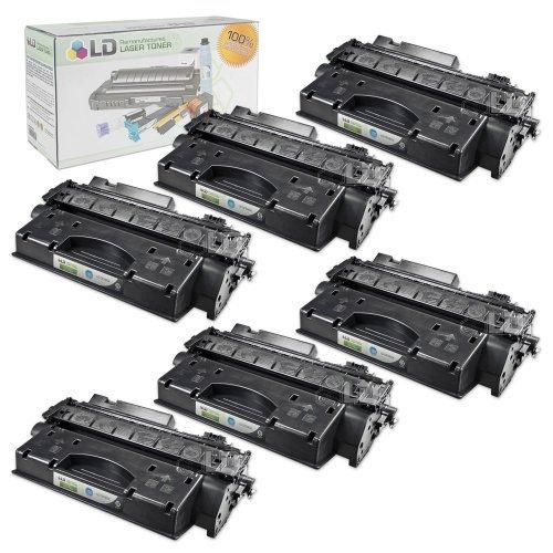 LD Compatible hewlett packard CF280X/80x) hy cartuchos de tóner negro para impresora LaserJet...