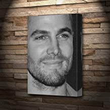Stephen Amell - Canvas Print (A5 - Signed by The Artist) #js001