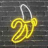 Skyland Neon Banane, 47 cm – Steckdose und Schalter inklusive Neon LED für Dekoration...