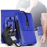 i-Tronixs (Blue) Acer Liquid Z330 case (cover for Acer