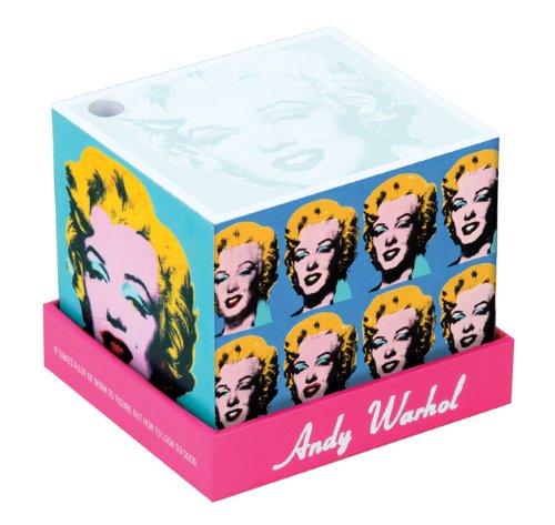 Andy Warhol Marilyn Memo Box (Memo Block)