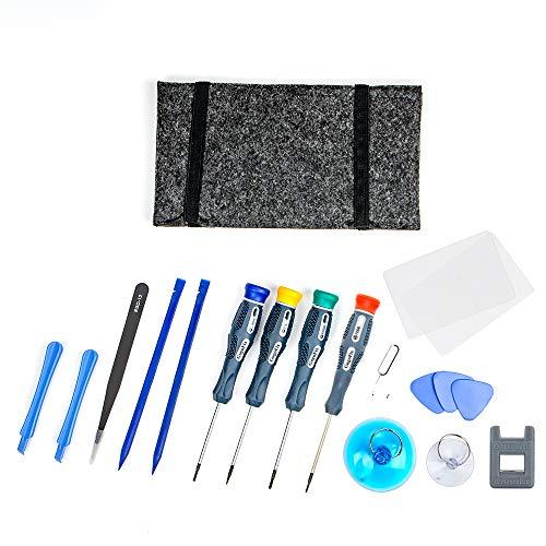 GogoFix Professionele iPhone Reparatie Gereedschap Schroevendraaier Kit voor iPhone X, 8, 8+, 7, 7+, 6S, 6S+, 6, 6+ Onderdelen Vervanging