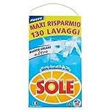 Sole Detersivo Lavatrice Polvere, 130 Lavaggi...