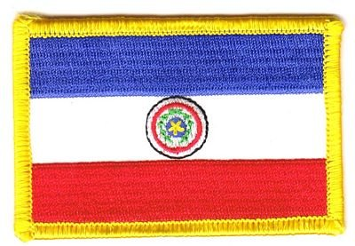 Flaggen Aufnäher Patch Paraguay Fahne Flagge NEU