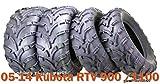 Set 4 WANDA ATV tires 25x10-12 & 25x11-12 fit 05-14 Kubota RTV 900/1100