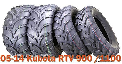 25x10-12 & 25x11-12 High Load ATV tires for 05-14 Kubota RTV 900/1100