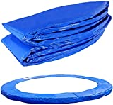 UIGJIOG Trampolin Randabdeckung Federabdeckung Für Gartentrampolin Jumper Trampolin-Randschutz PVC PE 100% UV-Beständig,Diameter ø 183cm