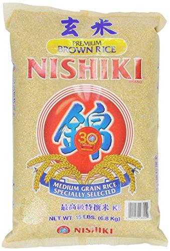 Nishiki Premium brauner Reis, 6,8 kg Sack