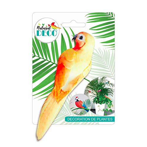 STC Déco Plantes – Medium Oiseau Orange CD3826