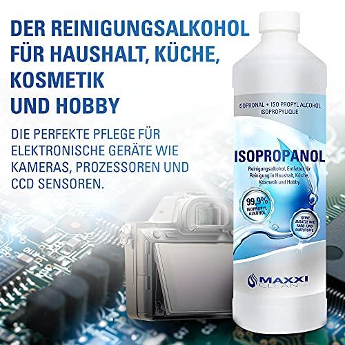 Maxxi Clean ISOPROPANOL 99,9% 1x 1000ml Erfahrungen & Preisvergleich