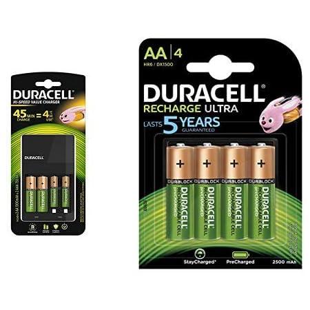 Duracell Ladegerät Mit 4 Stunden 1 Zählen Ultra Elektronik