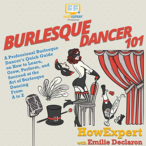 Burlesque Dancer 101 audiobook cover art