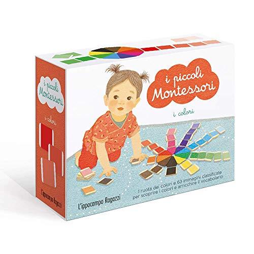 I colori. I piccoli Montessori. Ediz. a colori. Con 63 carte. Con ruota dei colori