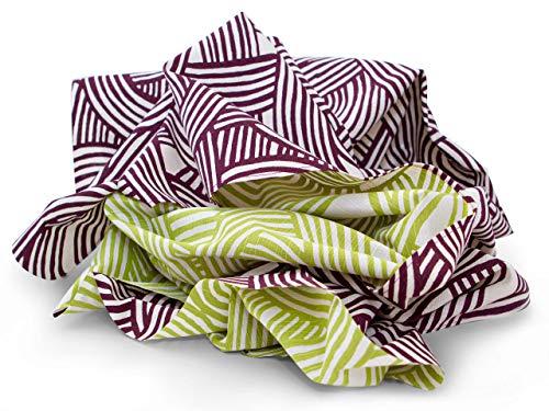 Maruwa Tischtuch, schöner Schal und originelle Tasche. Oder kreative Geschenk-Verpackung. Furoshiki Nami, das vielseitige, original japanische Tuch