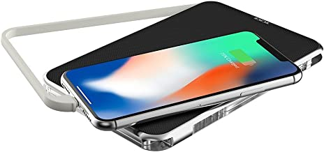 TUMI Portable Battery Bank with Captive Lightning (12000mAh) - Black/Silver