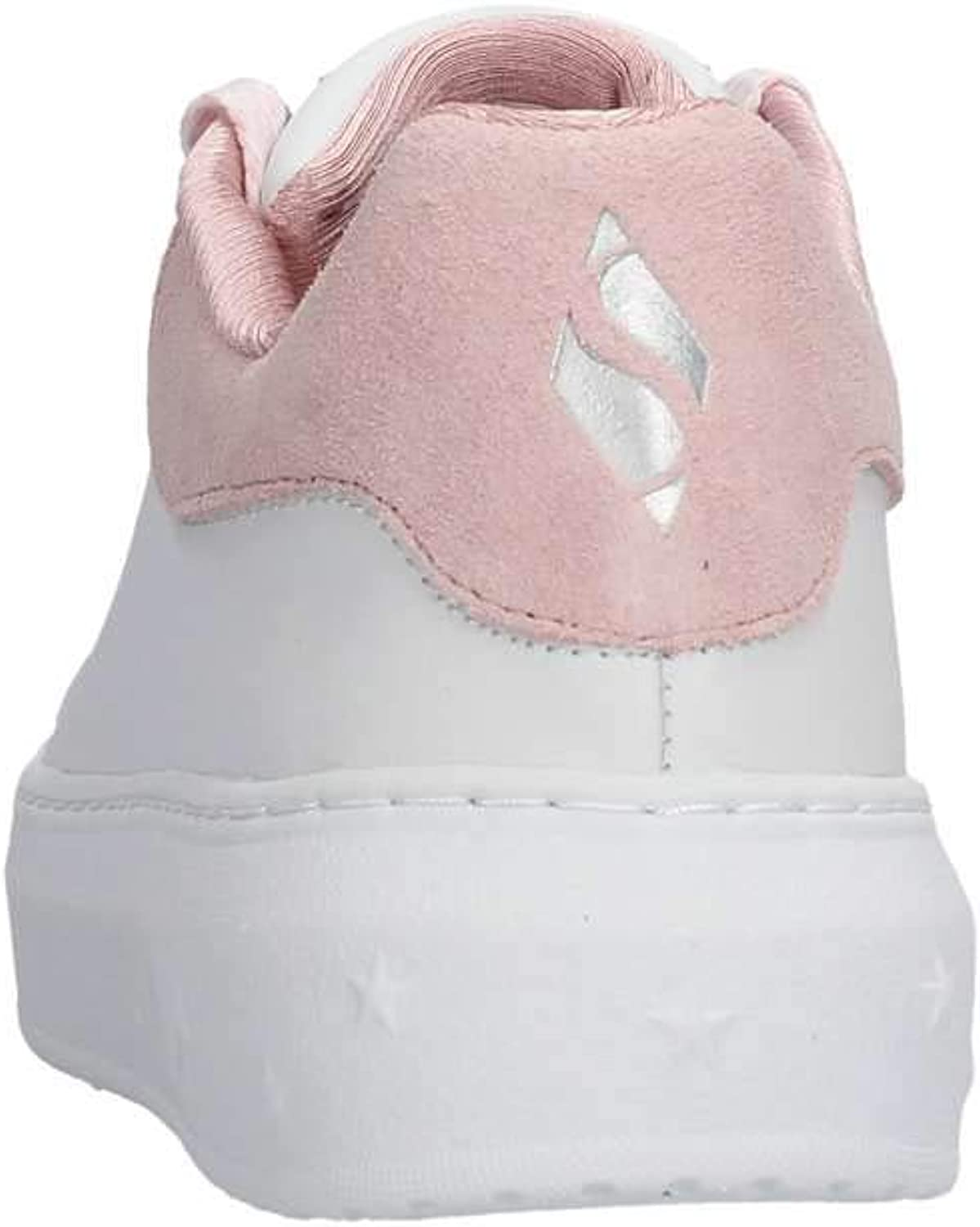 Skechers High Street Dotted Donna White Pink Wpk