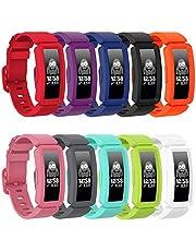 GVFM compatibel met Fitbit ace 2 bands voor kinderen 6+, zachte siliconen waterdichte armband accessoires sport riem jongens meisjes polsbandjes compatibel voor Fitbit Ace 2