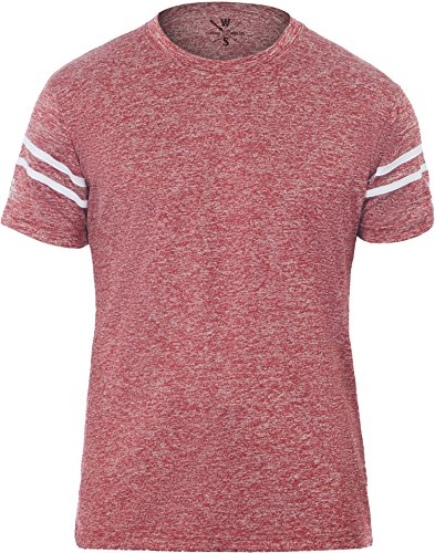 Warriors & Scholars Athletic T Shirt | Dri Fit Sport Shirts for Men | Sports Athletics t-Shirt