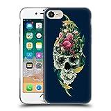 Head Case Designs Oficial Riza Peker Vida y Muerte Calaveras 9 Carcasa de Gel de Silicona Compatible con Apple iPhone 7 / iPhone 8 / iPhone SE 2020