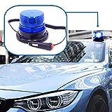 Gyrophare led magnetique Balise de Signalisation lumière d'urgence Lumière d'avertissement 12v 24v clignotant