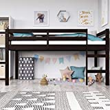 Dorel Living Milton Junior Twin Loft Bed, Espresso