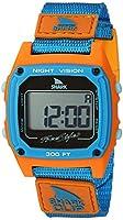 [フリースタイル]Freestyle 腕時計 SHARK クリップ デジタル 100m防水 ナイロンベルト ブルー×オレンジ 10026747 【正規輸入品】